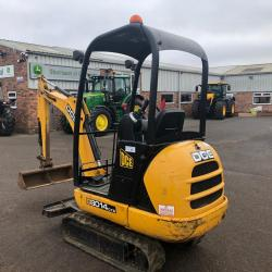 JCB 8014 CTS - Only 1757 hours