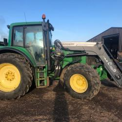 JD 6620 cw Q65 Loader - 7587 hours, Creep - SOLD