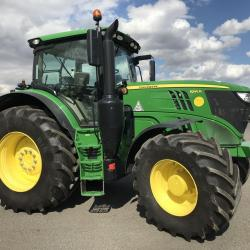 JD 6195R Only 1296 hours