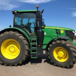 JD 6250R cw Fr Linkage - Only 455 hours!