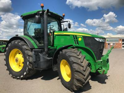 JD 7250R cw Fr Link & PTO - SOLD